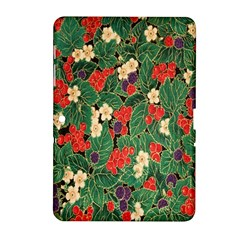 Berries And Leaves Samsung Galaxy Tab 2 (10 1 ) P5100 Hardshell Case