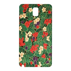 Berries And Leaves Samsung Galaxy Note 3 N9005 Hardshell Back Case