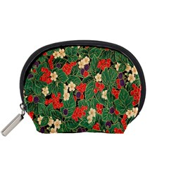 Berries And Leaves Accessory Pouches (Small)