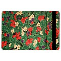 Berries And Leaves iPad Air 2 Flip