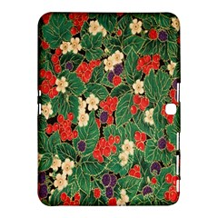 Berries And Leaves Samsung Galaxy Tab 4 (10.1 ) Hardshell Case