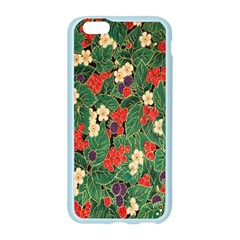 Berries And Leaves Apple Seamless iPhone 6/6S Case (Color)