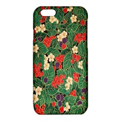 Berries And Leaves iPhone 6/6S TPU Case