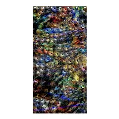 Multi Color Peacock Feathers Shower Curtain 36  x 72  (Stall)