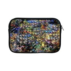 Multi Color Peacock Feathers Apple iPad Mini Zipper Cases