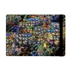 Multi Color Peacock Feathers iPad Mini 2 Flip Cases