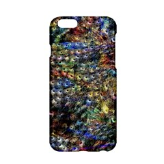 Multi Color Peacock Feathers Apple Iphone 6/6s Hardshell Case