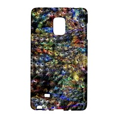 Multi Color Peacock Feathers Galaxy Note Edge