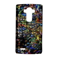 Multi Color Peacock Feathers Lg G4 Hardshell Case