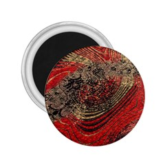 Red Gold Black Background 2 25  Magnets