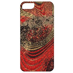 Red Gold Black Background Apple Iphone 5 Classic Hardshell Case