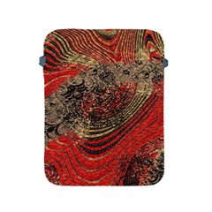 Red Gold Black Background Apple iPad 2/3/4 Protective Soft Cases