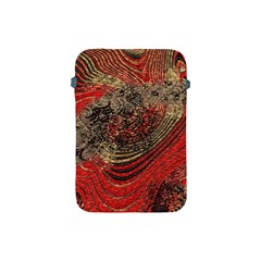 Red Gold Black Background Apple Ipad Mini Protective Soft Cases