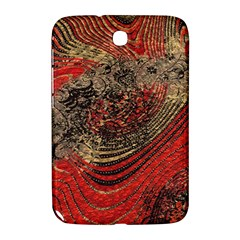 Red Gold Black Background Samsung Galaxy Note 8.0 N5100 Hardshell Case