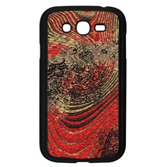 Red Gold Black Background Samsung Galaxy Grand DUOS I9082 Case (Black)