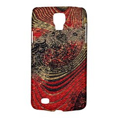 Red Gold Black Background Galaxy S4 Active