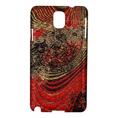 Red Gold Black Background Samsung Galaxy Note 3 N9005 Hardshell Case