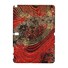 Red Gold Black Background Galaxy Note 1