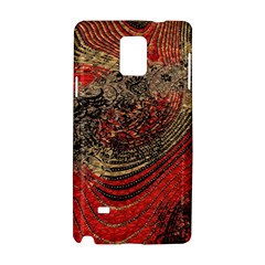 Red Gold Black Background Samsung Galaxy Note 4 Hardshell Case