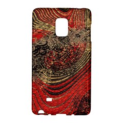 Red Gold Black Background Galaxy Note Edge
