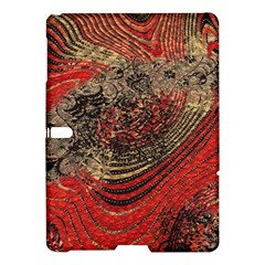 Red Gold Black Background Samsung Galaxy Tab S (10 5 ) Hardshell Case