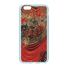 Red Gold Black Background Apple Seamless iPhone 6/6S Case (Color)