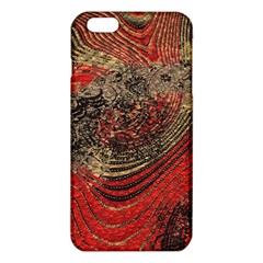 Red Gold Black Background iPhone 6 Plus/6S Plus TPU Case