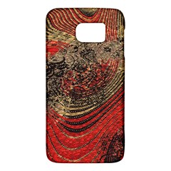 Red Gold Black Background Galaxy S6