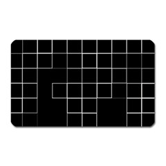 Abstract Clutter Magnet (Rectangular)