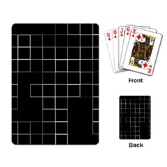 Abstract Clutter Playing Card