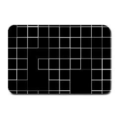 Abstract Clutter Plate Mats