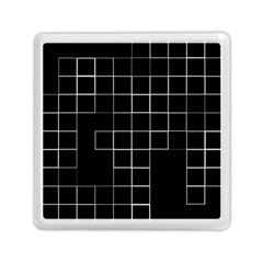 Abstract Clutter Memory Card Reader (square)
