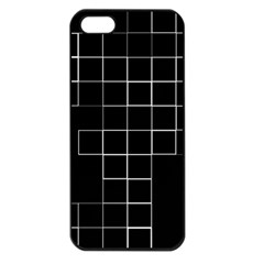 Abstract Clutter Apple iPhone 5 Seamless Case (Black)
