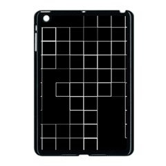 Abstract Clutter Apple iPad Mini Case (Black)