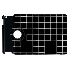 Abstract Clutter Apple Ipad 3/4 Flip 360 Case