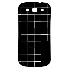 Abstract Clutter Samsung Galaxy S3 S III Classic Hardshell Back Case