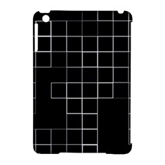 Abstract Clutter Apple iPad Mini Hardshell Case (Compatible with Smart Cover)