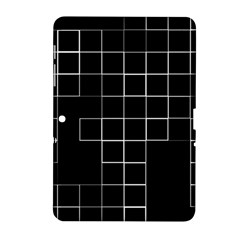 Abstract Clutter Samsung Galaxy Tab 2 (10.1 ) P5100 Hardshell Case