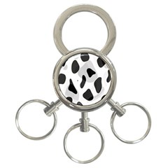 Abstract Venture 3 Ring Key Chains