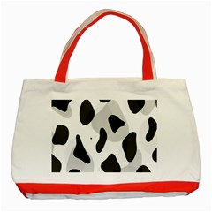 Abstract Venture Classic Tote Bag (red)