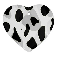 Abstract Venture Heart Ornament (Two Sides)