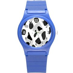 Abstract Venture Round Plastic Sport Watch (S)