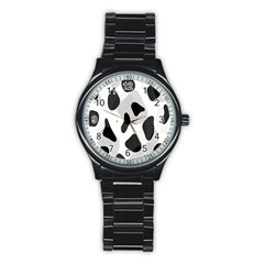 Abstract Venture Stainless Steel Round Watch