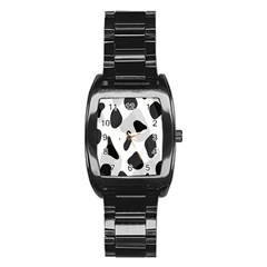 Abstract Venture Stainless Steel Barrel Watch