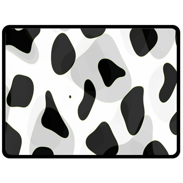 Abstract Venture Double Sided Fleece Blanket (Large)
