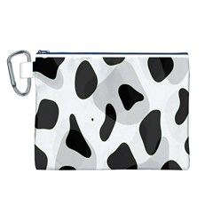 Abstract Venture Canvas Cosmetic Bag (l)
