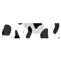 Abstract Venture Satin Scarf (Oblong)