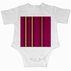 Stripes Background Wallpaper In Purple Maroon And Gold Infant Creepers