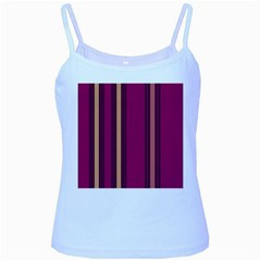 Stripes Background Wallpaper In Purple Maroon And Gold Baby Blue Spaghetti Tank