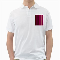 Stripes Background Wallpaper In Purple Maroon And Gold Golf Shirts